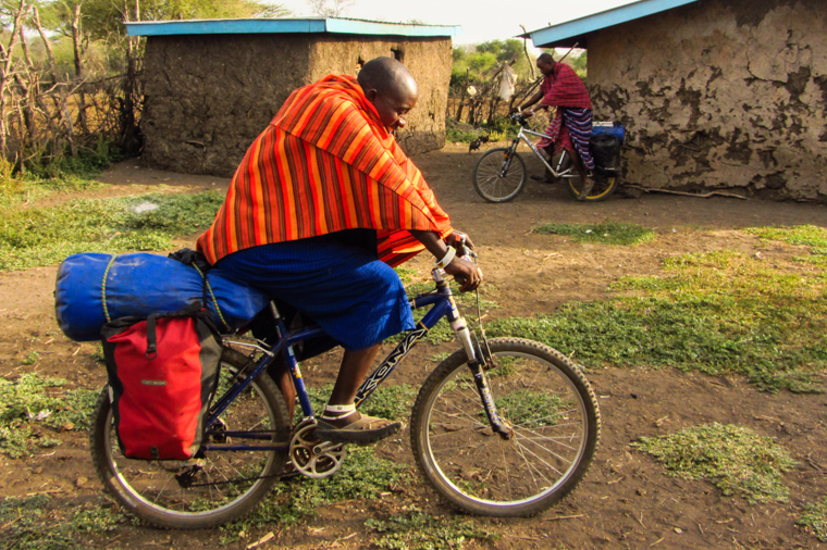Masai on wheels