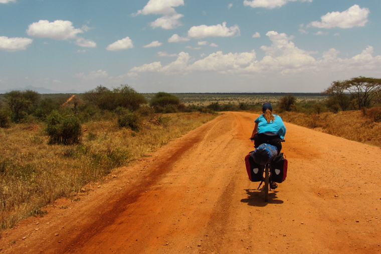 Traversing Tsavo West, the Man Eater's National Park