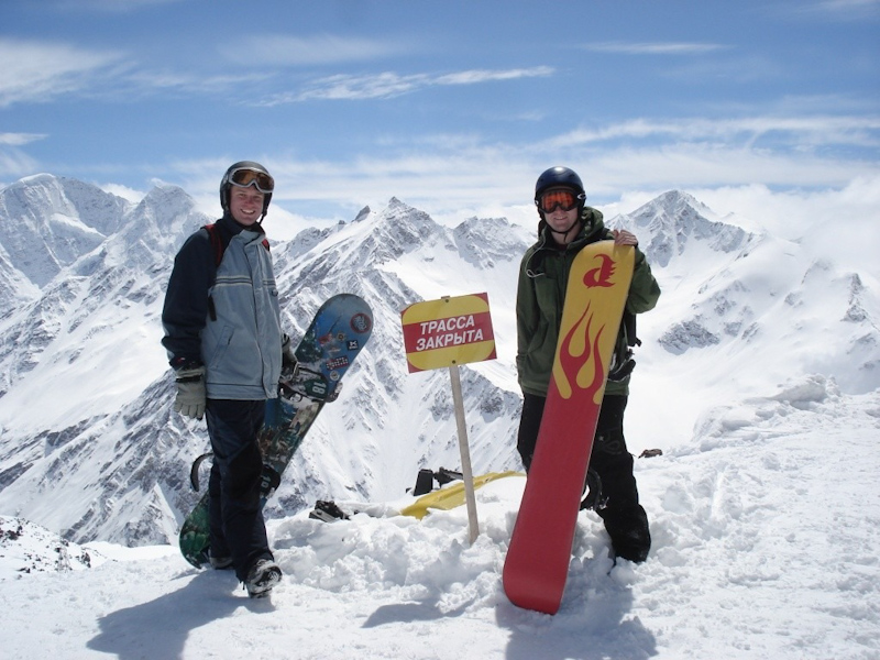 Elbrus, the Europe's freeriding Mecca