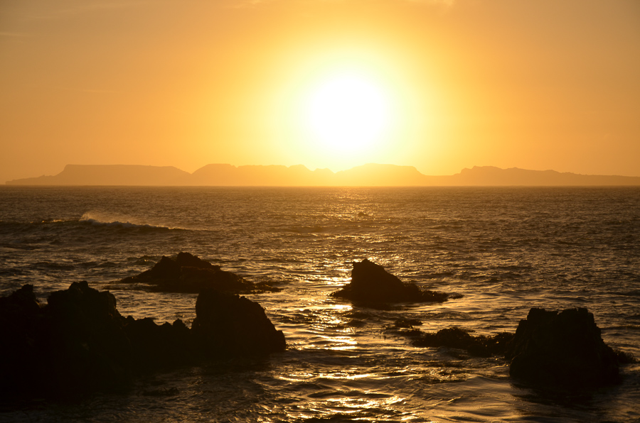Sunset in Punta de Choros