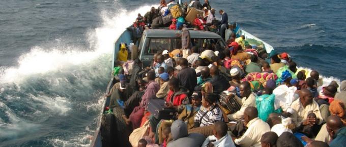 Kongo wzdłuż jeziora Tanganika