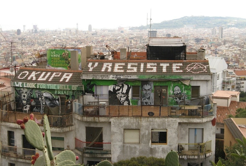 Barcelona, europejski park rozrywki