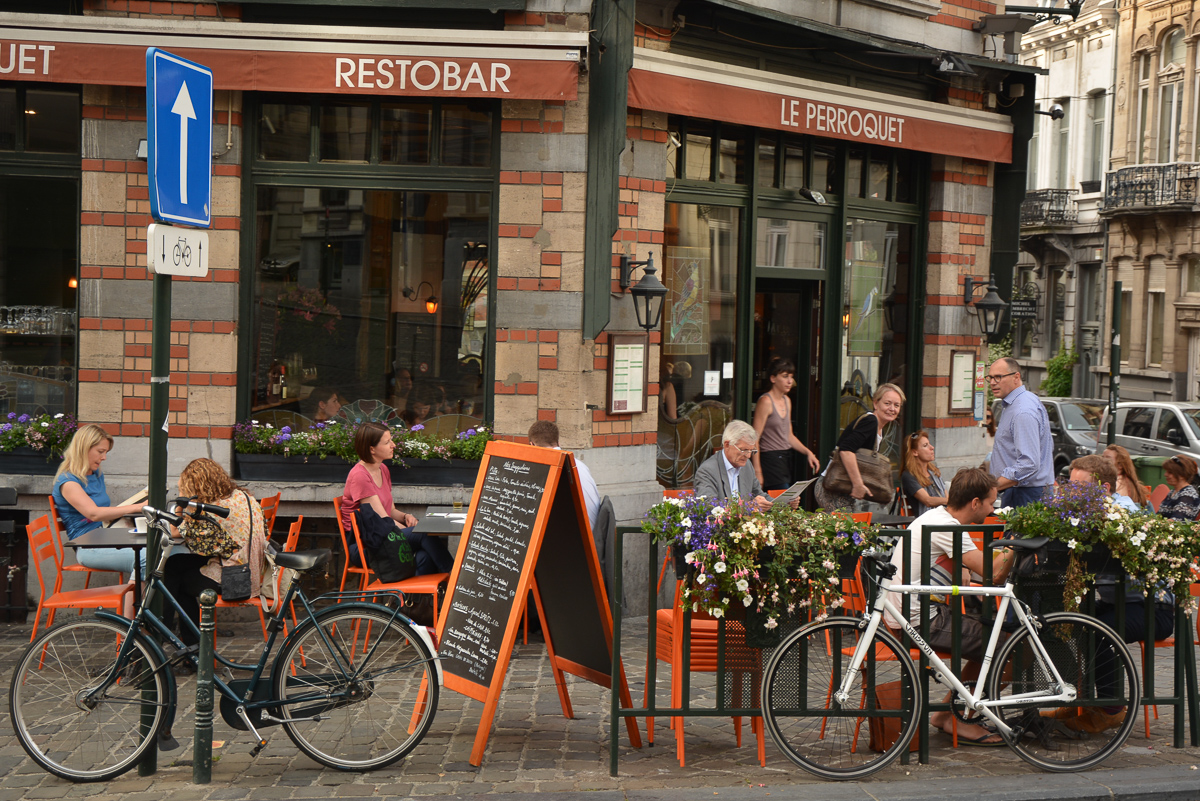 Restobar Le Perroquet, Brussels