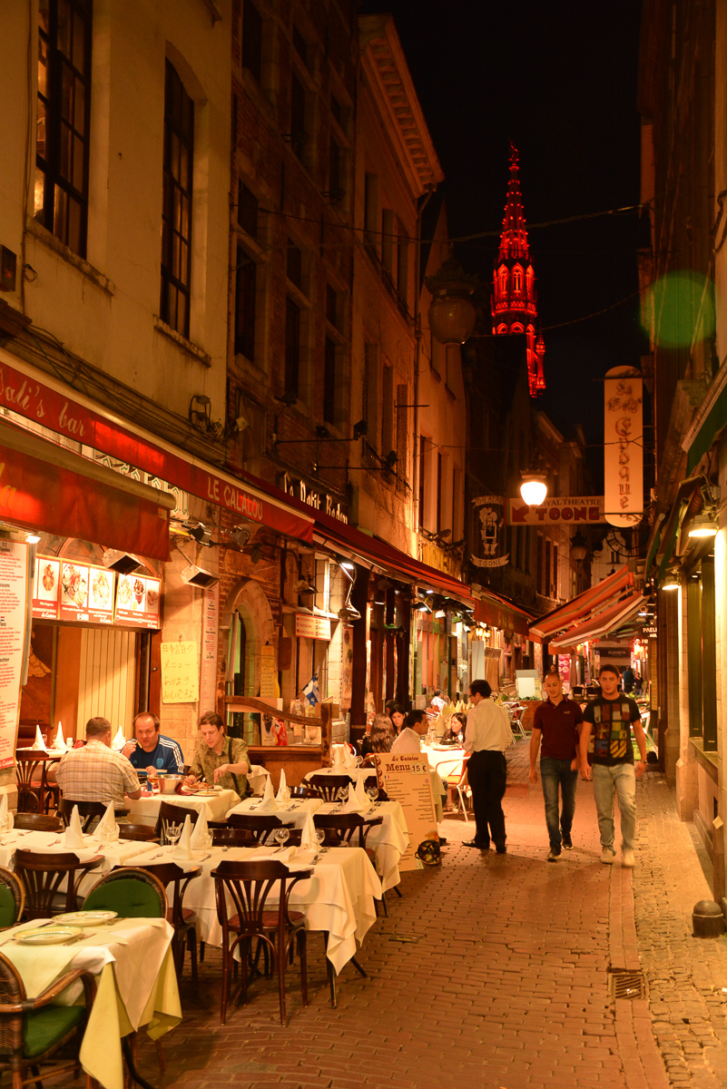 Nightlife in Brussels