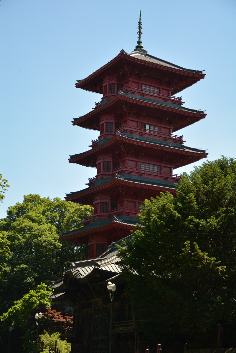 Japanese tower (built for Expo '58)