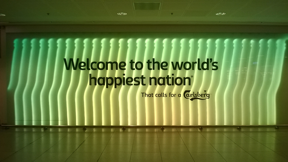 World's happiest nation