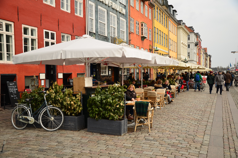 Restaurants at Nyhavn