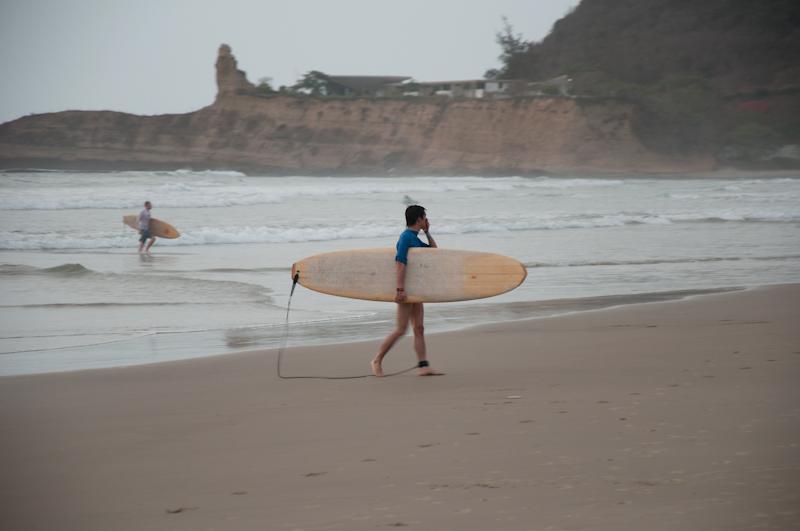 Surfing w Ekwadorze