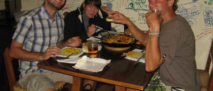 Paella i ślimaki