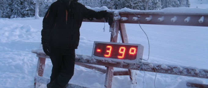 Gdy temperatura spada do minus 40ºC