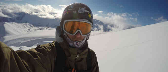 Snowboard w Gudauri (Gruzja)
