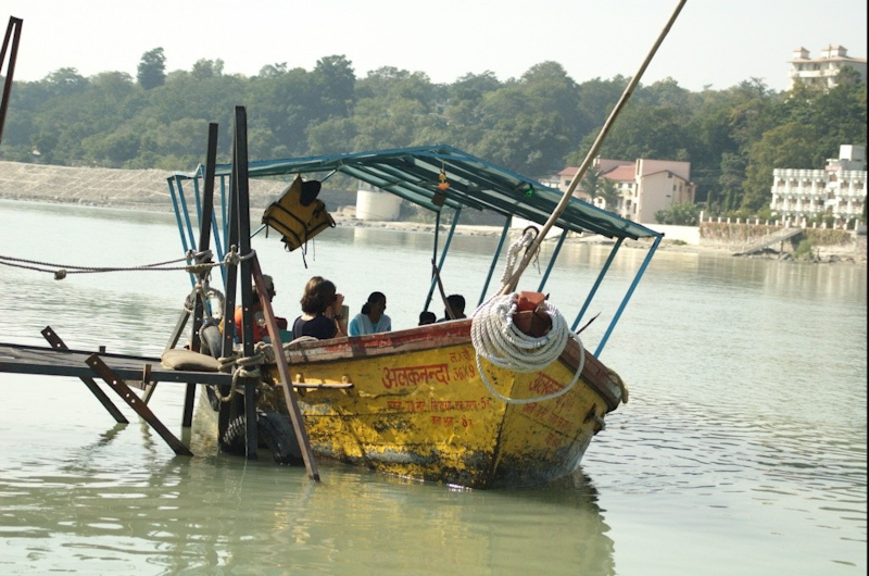 W górnym biegu rzeki Ganges