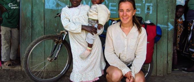 Rowerem przez ziemię Masajów