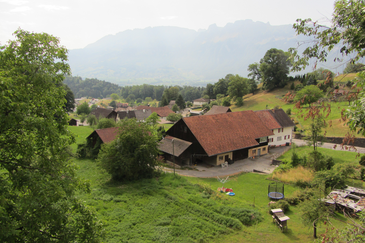 We've Already Walked On Foot A Large Part Of Liechtenstein What Is Missing  Is