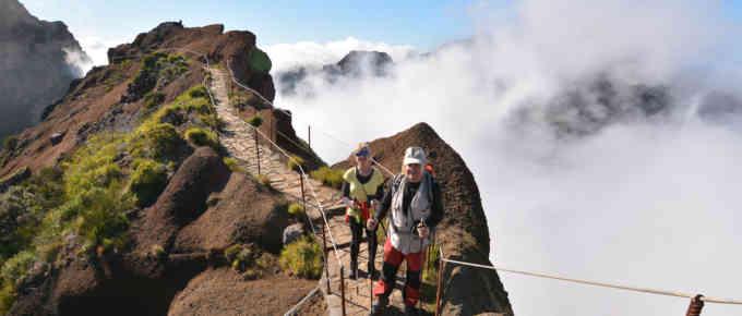 Exploring levadas in Madeira