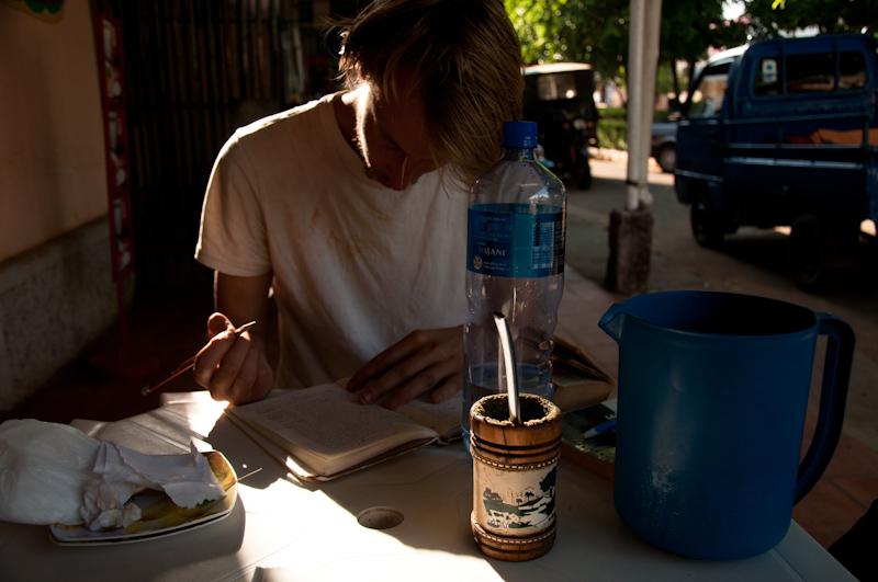 Sipping tereré in Paraguay