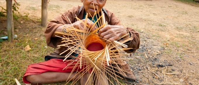 Wioska na północy Laos
