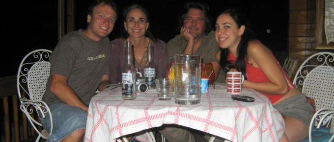 Rodzina w el Escorial