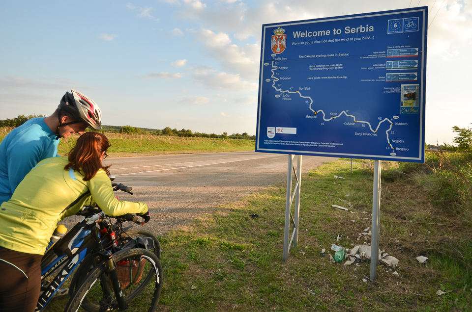 Serbia, Danube and bicycles