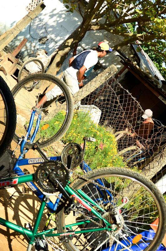 Bikes under constant repair