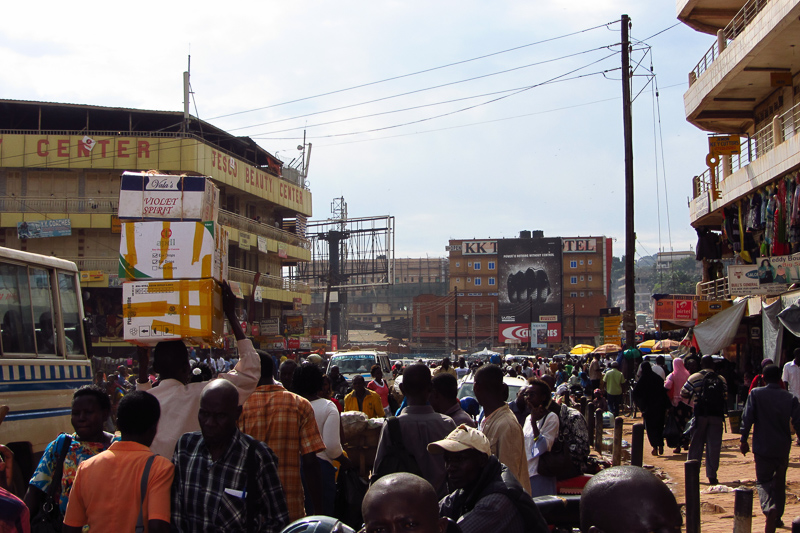 Hectic Kampala, Uganda's biggest city and capital